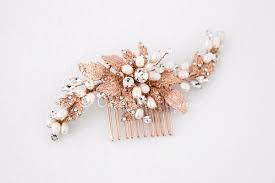 bridal hair comb gold bridal hair comb with ivory pearls lynne