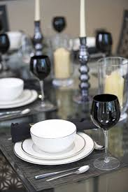 black and white table settings 44 terrific table setting ideas for dinner parties holidays 2018