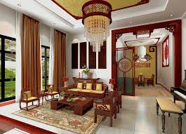 China Living Room Carameloffers - Chinese living room design