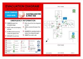 Fire Evacuations Nz by Evacuation Diagram Template Nsw Periodic U0026 Diagrams Science