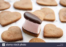 heart shaped crackers heart shaped graham cracker cookies and s more filled with pink