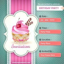 birthday invitation maker free inspirational birthday invitation maker online free printable and