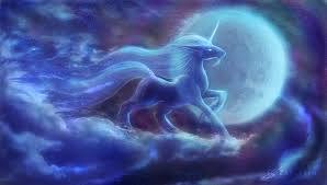 unicorn moon by zaellrin on deviantart