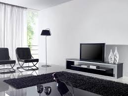 Living Room Furniture Black Minalist Eye Catching Minimalist Living Room With Modern Tv