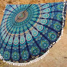 Home Decor Tapestry Mandala Beach Towel Round Roundie Tapestry Mandala Tapestry Home