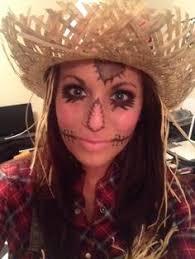 Womens Scarecrow Halloween Costume Cute Scarecrow Makeup Love Halloween U003c3 Halloween