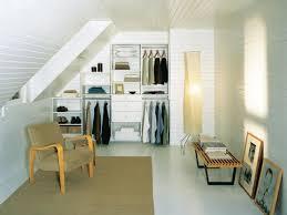 Slanted Wall Bedroom Closet Attic Closet Organization Ideas Roselawnlutheran