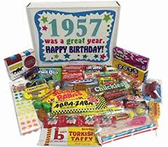 60 year birthday gifts 60th birthday gift box of nostalgic retro candy from