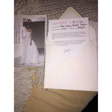 Vera Wang Wedding Invitations Vera Wang Luxe Uta Wedding Dress On Tradesy
