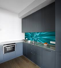 Kitchen Splashback Ideas Uk by Blue Vortex Acrylic Splashback For Kitchens Bathrooms Wow