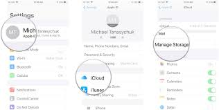 how to manage your icloud storage on iphone or ipad imore tap your apple id banner tap icloud tap manage storage