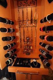 custom jewelry storage traditional closet cleveland by