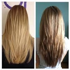 v cut layered hair v cut hairstyle long hair 1000 ideas about v layer cut on