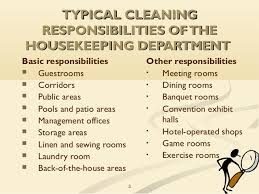 House Cleaning Job Description For Resume by Housekeeping Responsibilities 22 Housekeeper Resume Art Examples