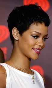 very short hairstyles rihanna women medium haircut