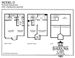 tri level house floor plans woodbridge 2 bedroom apartment floor plans baron s gate