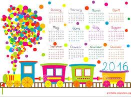 kids calendar template u2013 blank calendar 2017