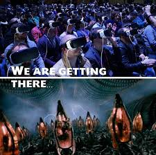 facebook zombies u0027 reveals future of virtual reality daily mail
