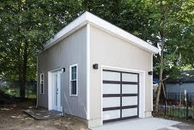 backyard garage she shed gives a derelict backyard garage real purpose