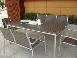 modern outdoor dining table ticari rectangular dining table contemporary outdoor dining with