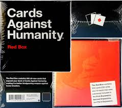 cards against humanity expansion pack new cards against humanity blue and green boxes