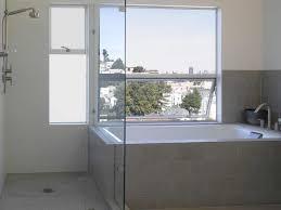 Modern Bathroom Windows Tile Tub Surround Bathroom Modern With Awning Windows Glass Shower