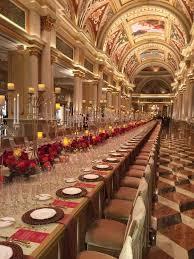 venetian las vegas wedding grand banquet at the venetian las vegas la cucina italiana food