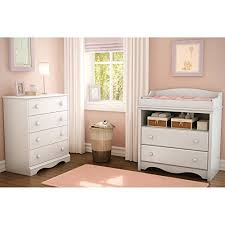 South Shore Changing Table South Shore Heavenly Changing Table And 4 Drawer Chest Set