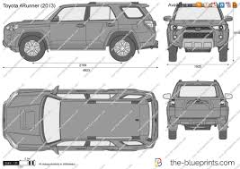 the blueprints com vector drawing toyota 4runner