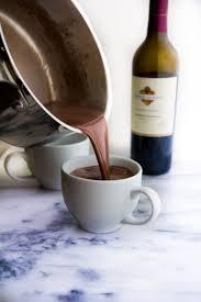 wine chocolate wine hot chocolate yeah immaeatthat