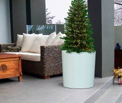 Outdoor Decoration by Furniture Intersting Fiberglass Planters For Outdoor Accessories