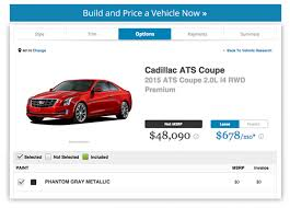 cadillac ats build how we d spec it cadillac ats coupe as the anti