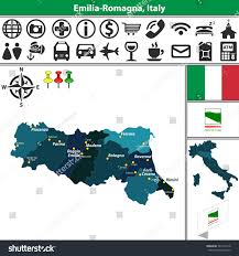 Urbino Italy Map by Map Of Emilia Romagna Italy Greece Map A Detailed Map Of