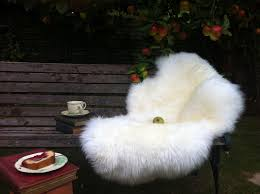 modern country style sheepskin rugs and throws eighties