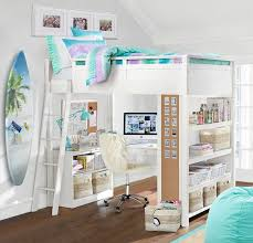 Bunk Beds Bedroom Set Sleep Study Loft Pbteen