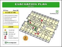 fire evacuation floor plan building maps fire evacuation plans emergency evacuation maps and
