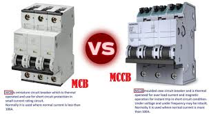 what is difference between mcb and mccb