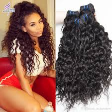 curly hair extensions hair water wave 3 bundles and wavy