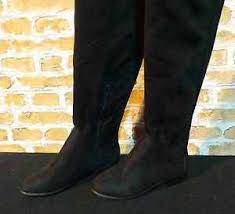 s high boots uk wallis holden black stretch knee high boots uk 3 36