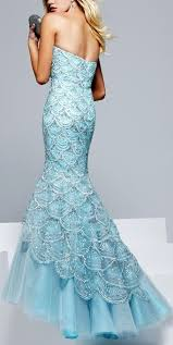 Light Blue Mermaid Dress Best 25 Blue Mermaid Dress Ideas On Pinterest Elegant Dresses
