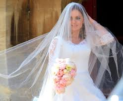 geri halliwell with daughter bluebell as she marries f1 u0027s