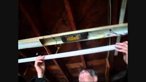 fluorescent strip light fix youtube