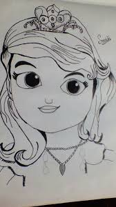 my princess sketch by smriti mishra u2013 sweksha