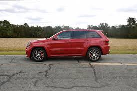 stanced jeep srt8 road beast 2017 jeep grand cherokee srt auto trends magazine