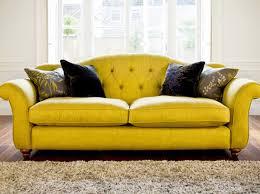 Yellow Sofa Bed Sofas Orange Sofa As Interior Design In Charming Room Playful