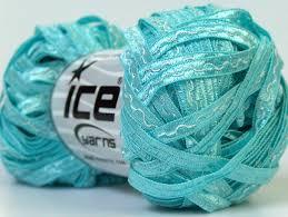 teal satin ribbon satin ribbon turquoise light turquoise ribbon ladder yarns