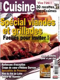 cuisine revue télécharger cuisine revue n 52 spécial viandes et grillades