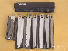 kershaw kitchen knives set original vintage kershaw blade trader six knife set