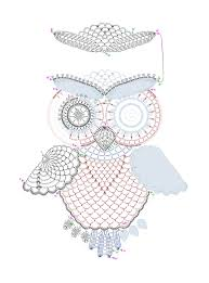 Filet Crochet Patterns For Home Decor Crochet Owl Pattern By Tasamajamarina Deviantart Com On