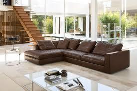 canap d angle cuir marron 50 idées fantastiques de canapé d angle pour salon moderne